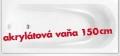 AKCIA vaňa VIOLA 150x70