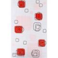 LINEA dekor 25x40 red